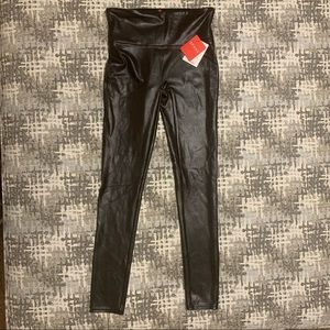 GOOD AS NEW Spanx Faux Leather pants